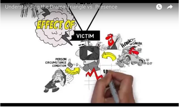 The Drama Triangle vs Presence
